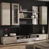 CONDOR NEW - egyszerűen nagyszerű nappali- Tölgy-Fehér