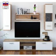 waw new modern szekrénysor wotan tölgy, fehér