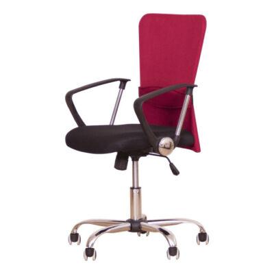 T-Irodai szék, fekete / piros, AEX