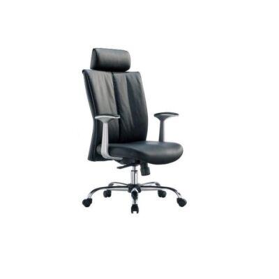 T-Irodai szék, fekete textilbőr, HABIB