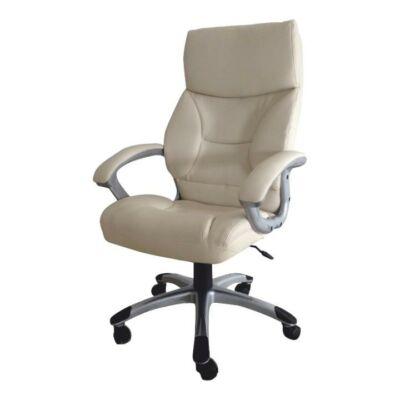 T-Irodai szék, krémszínű, BST-3033