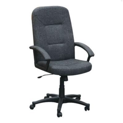 T-Irodai szék, szürke/fekete, TC3-867F