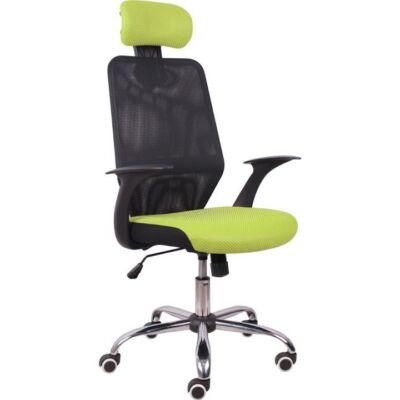 T-Irodai szék, zöld/fekete, REYES