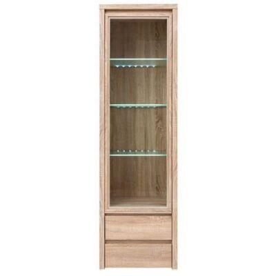 Kaspián elemes bútor REG1W2SL vitrines állóelem