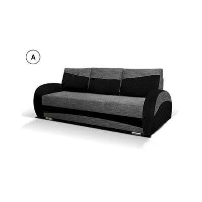 MARA kanapé fekete - szürke